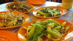 street food at Jalan Alor